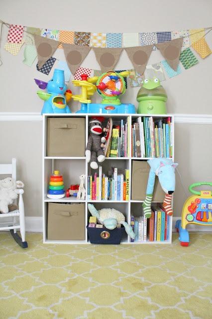 Use Canvas Bins For Decorative Storage Trusper