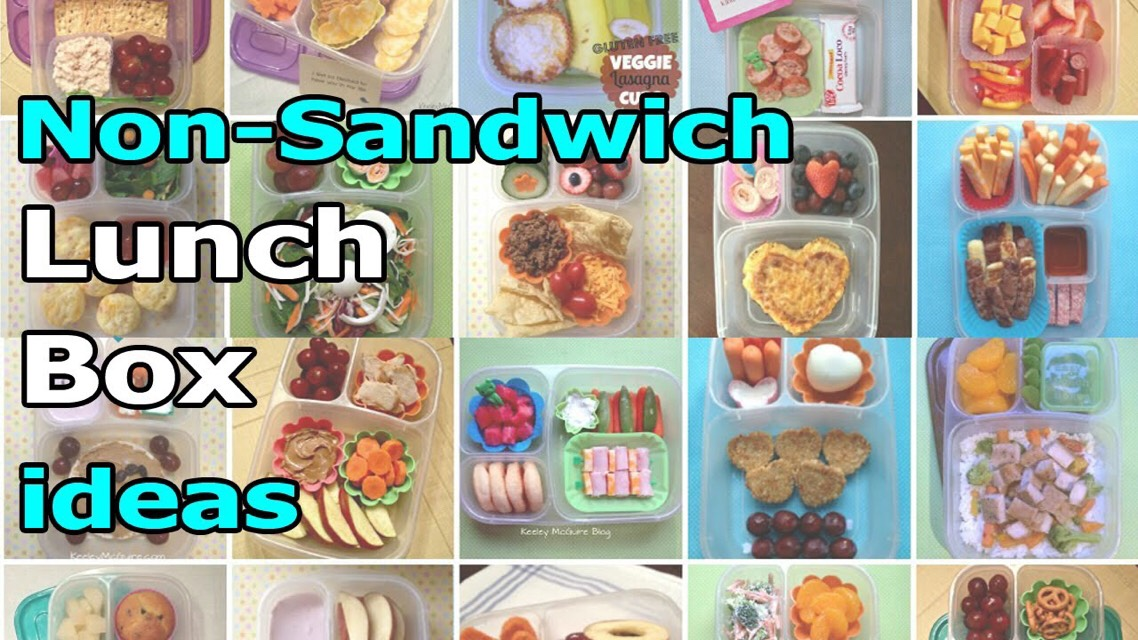 Non Sandwich School Lunchbox Ideas