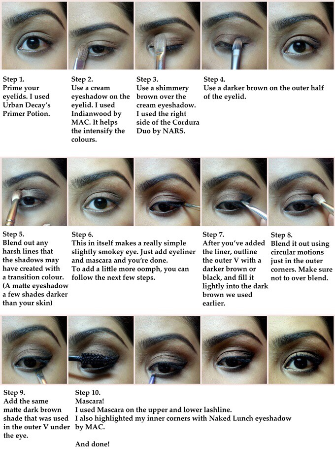 Smokey Eye Tutorials For Beginners. | Trusper