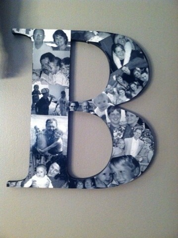 DIY; Picture Monogram
