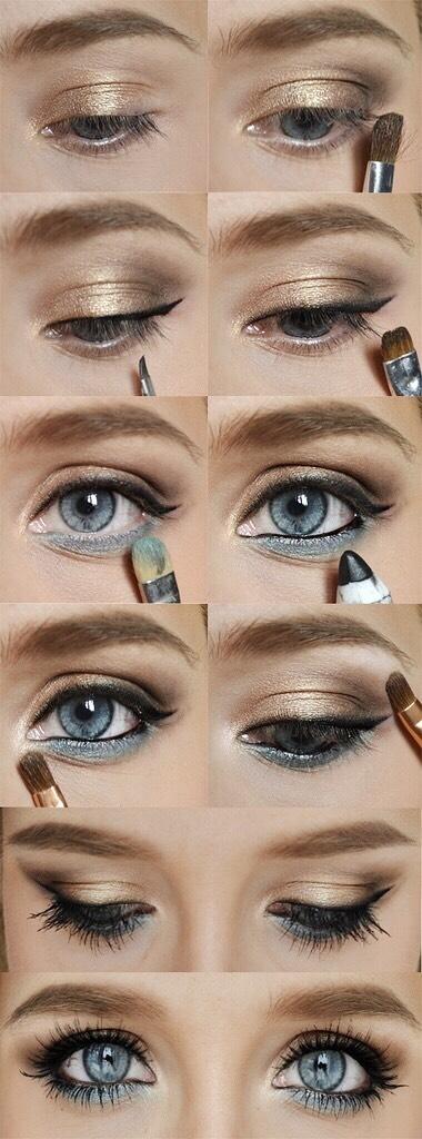 DIY Eye Makeup 👀😍