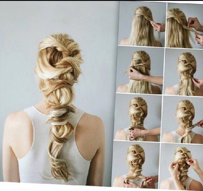 18 Easy And Cute Hairstyles To Go Step-by-step