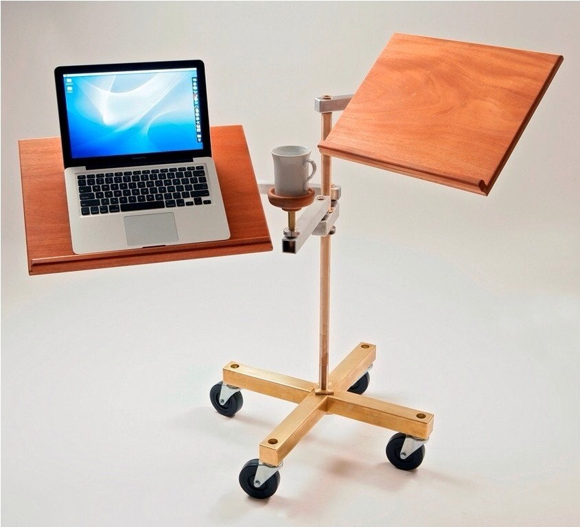 A Cool Sit Down Or Stand Up Laptop Desk Trusper