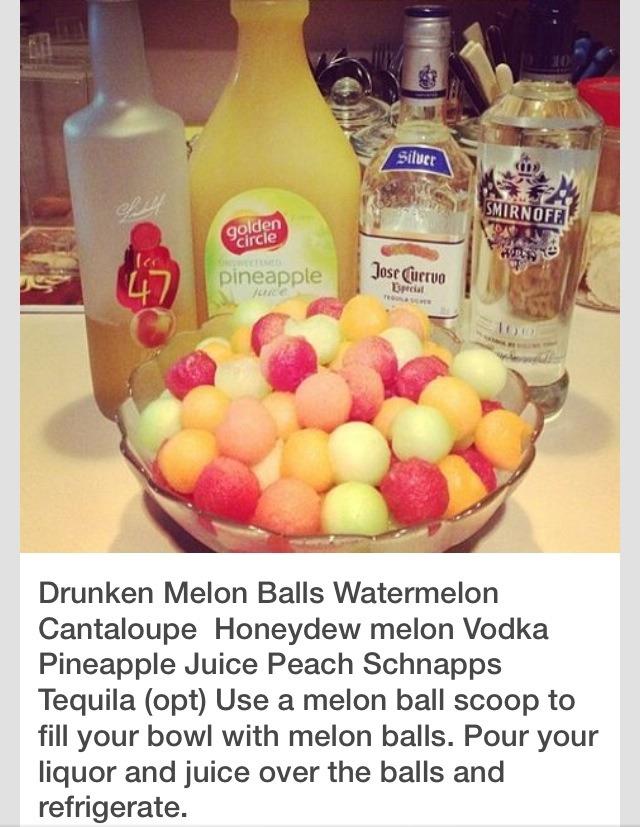 🍉🍈🍇Drunken Melon Balls Recipe🍇🍈🍉