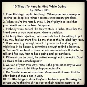 Dating sites what to keep in mind