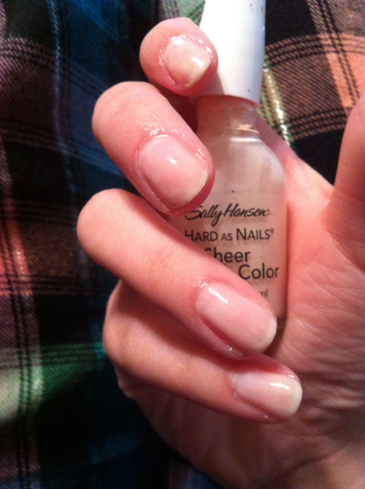 how to make your nails smooth