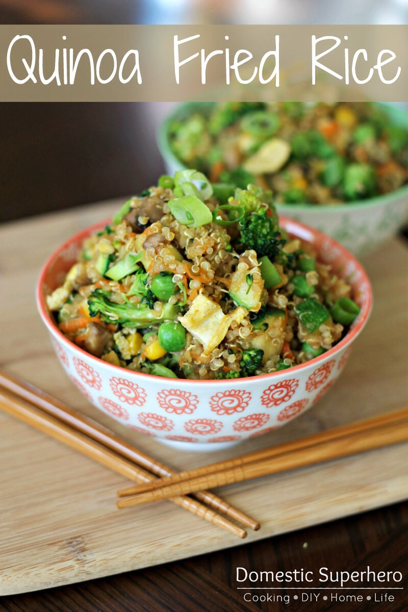 Quinoa Fried Rice - A Healthy Alternative | Trusper