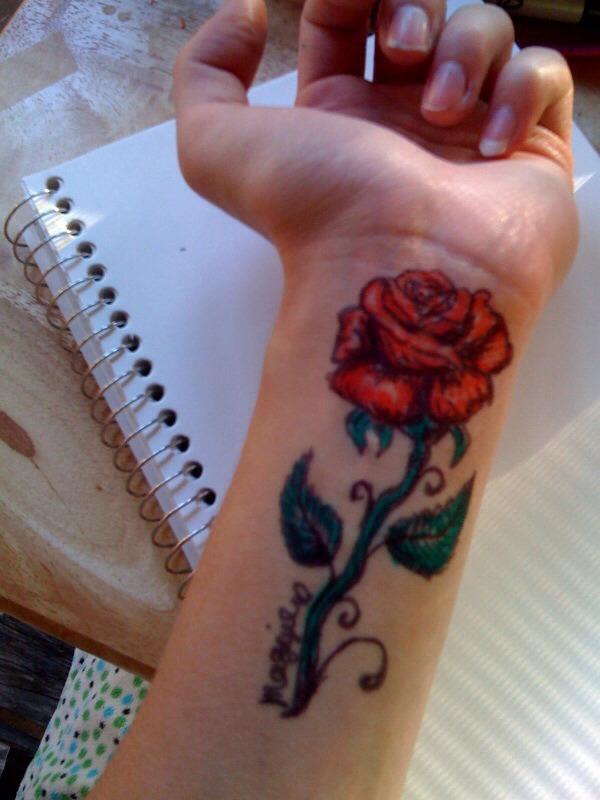 Temporary tattoo trusper for Fake tattoo hairspray