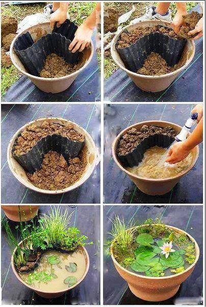 New Idea For Flower Pots