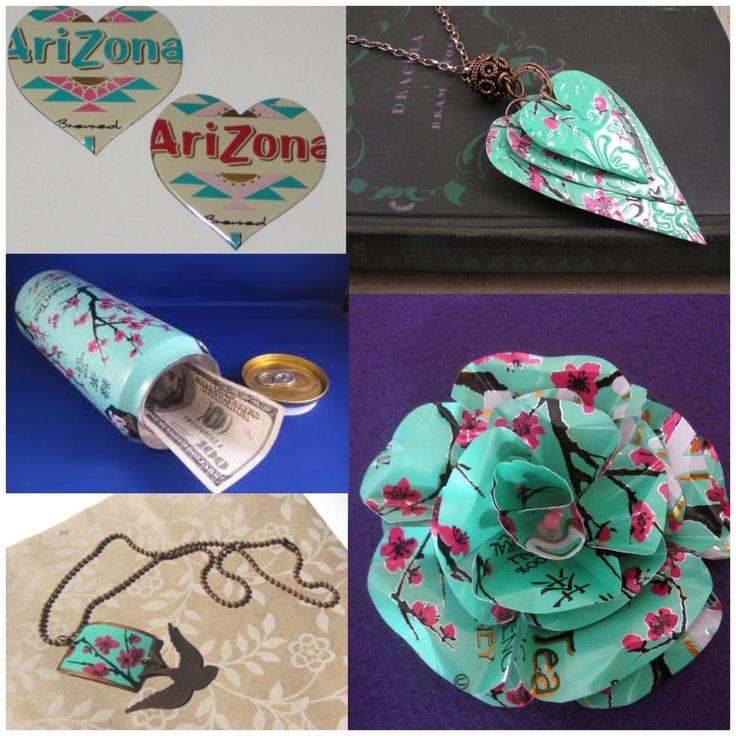 DIY using Arizona Tea can   Trusper