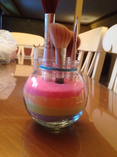 Store Your Makeup Brushes