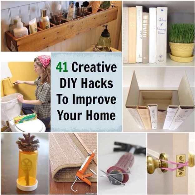 🌟41 Creative DIY Hacks To Improve Your Home🌟