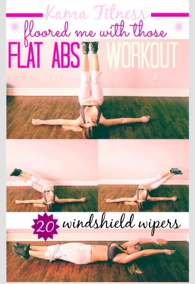 Flat Abs Workout👍👍 #tipit