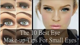 ❤️✨The 10 Best Eye Make-up Tips For Small Eyes✨❤️