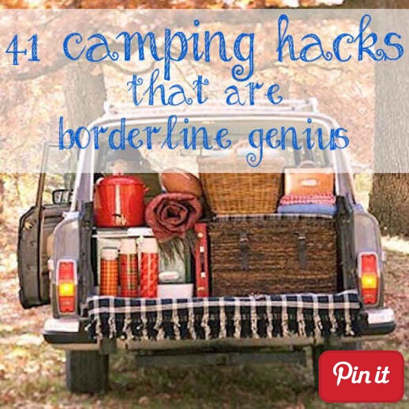 41 Camping Hacks That Are Borderline Genius❤️