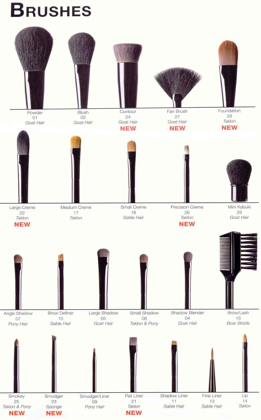 Confused.... Do You Know What Type Of Makeup Brush You
