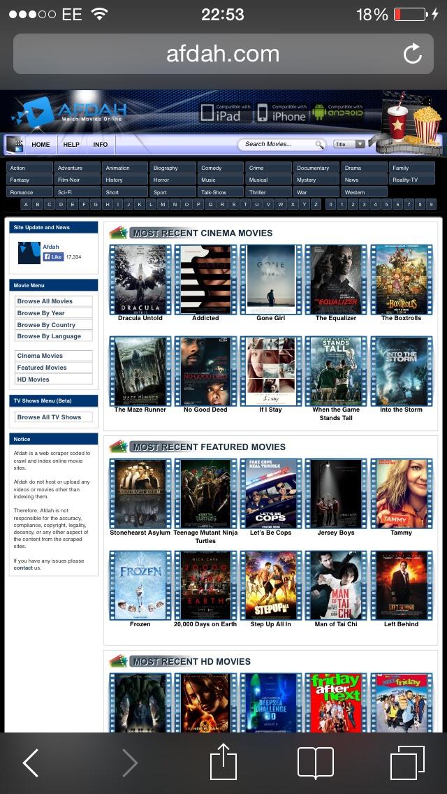 Good Free Movie Sites