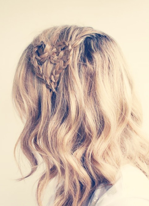 Heart Braids! The Perfect Unique Hairstyle To Grab Attention This Holliday Season