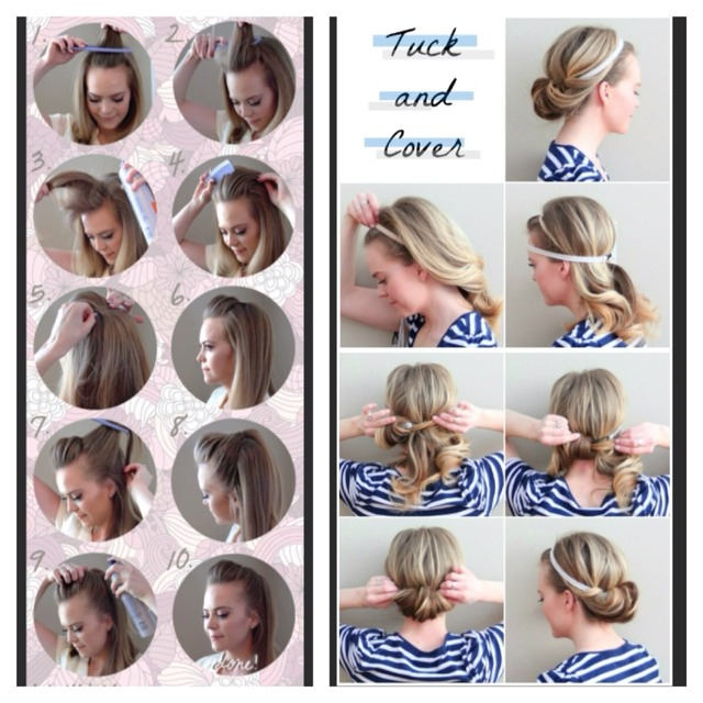 Hairstyle Tryer : DID YOU KNOW 5 Minute Fast And Easy Hair Styles, 640x640 in 115.0KB