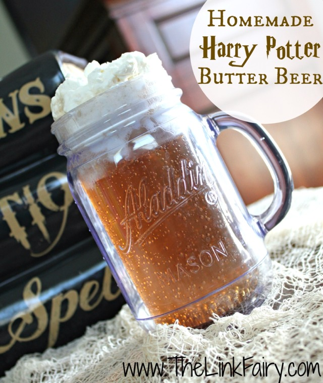 How To Make Harry Potter Butter Beer  (nonalcoholic)
