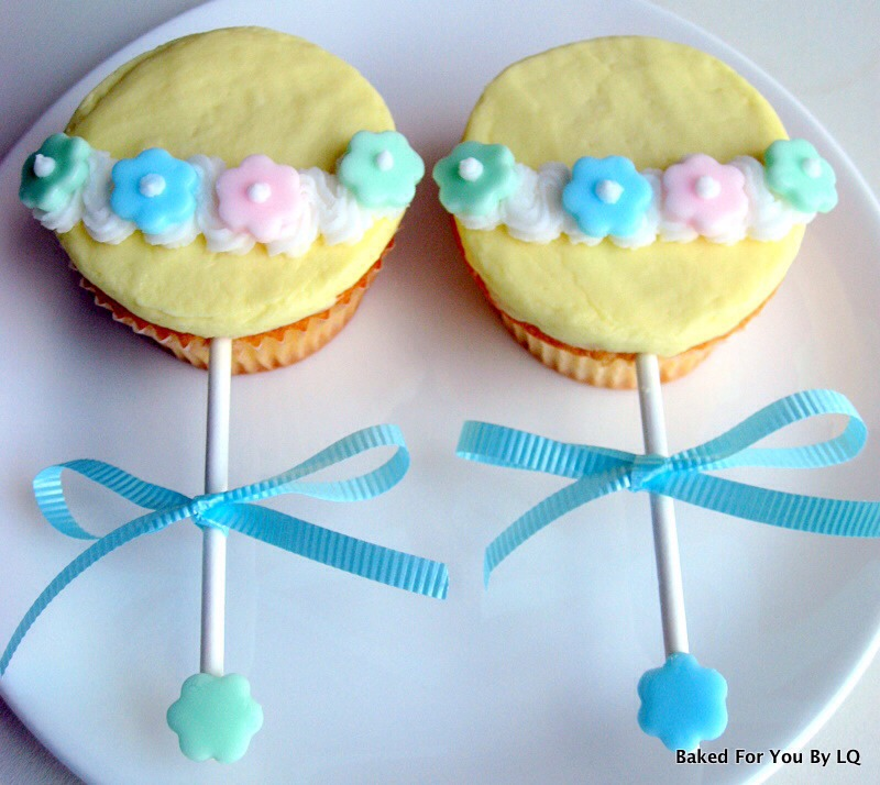Cute Baby Shower Cupcake Idea! Easy And Cheap!