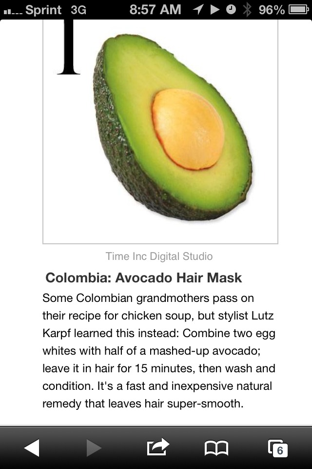 """colombian Hair Mask- Get Smooth Hair"""