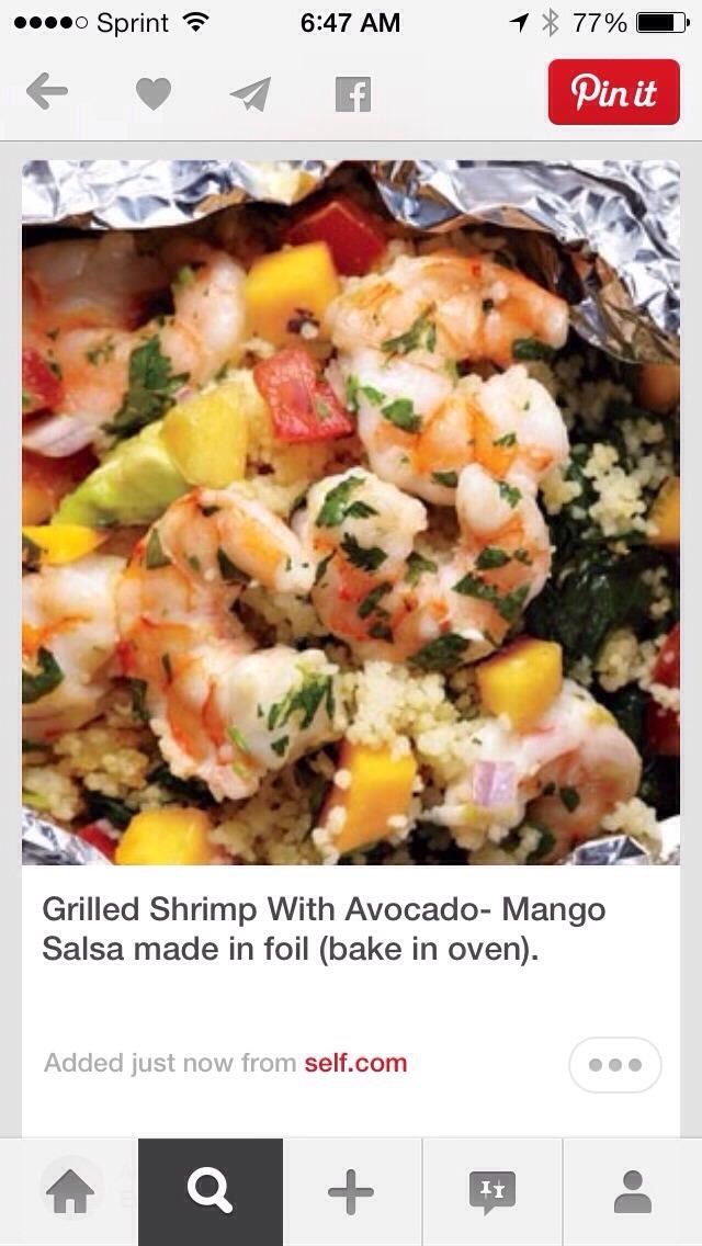 Shrimp Burgers with Mango-Avocado Salsa Shrimp Burgers with Mango-Avocado Salsa new photo