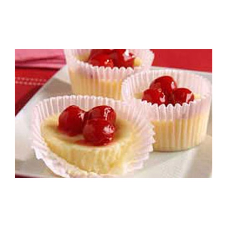 Mini Cherry Cheesecakes ?