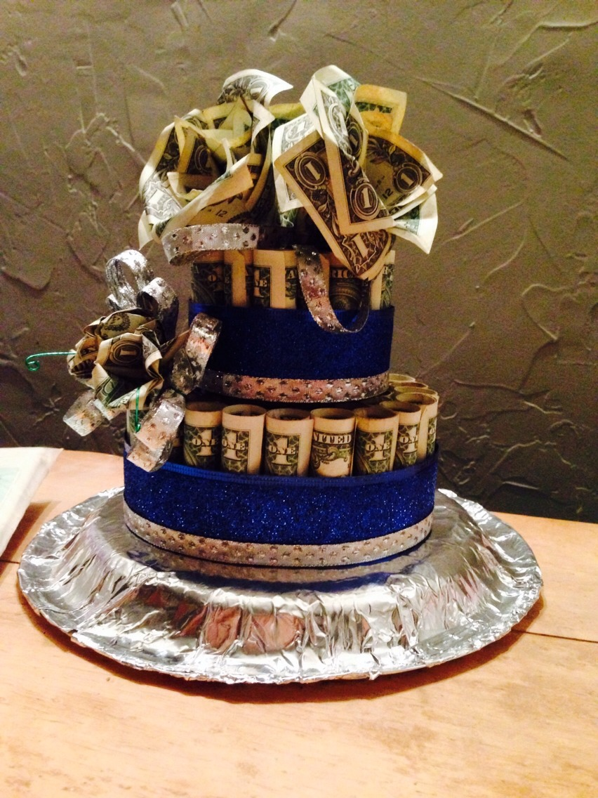 How To Make Stack Of Money Cake