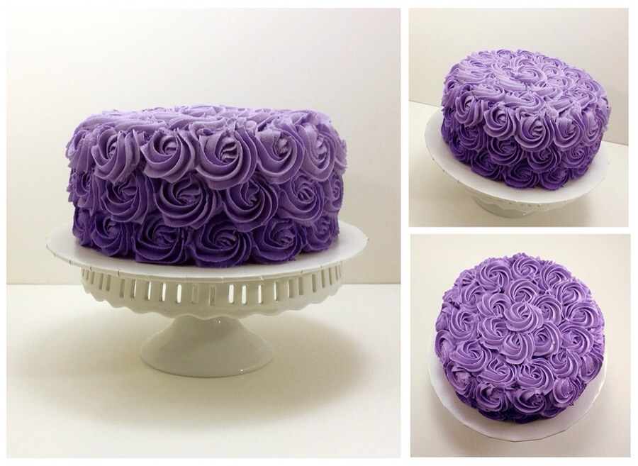 Cake Decorating- Rose Cake Trusper