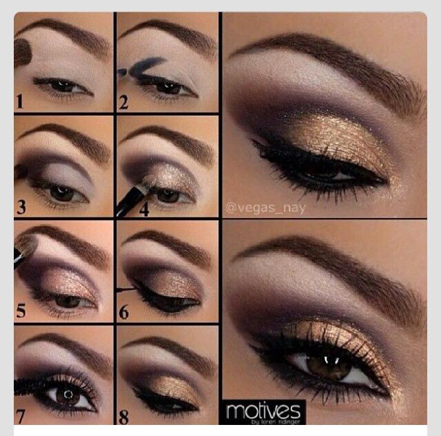smokey eyeshadow tutorial with picture trusper