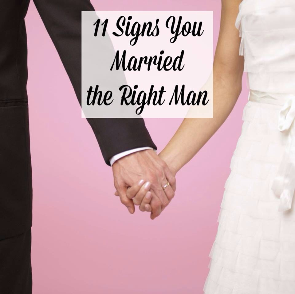 Signs of dating a married man