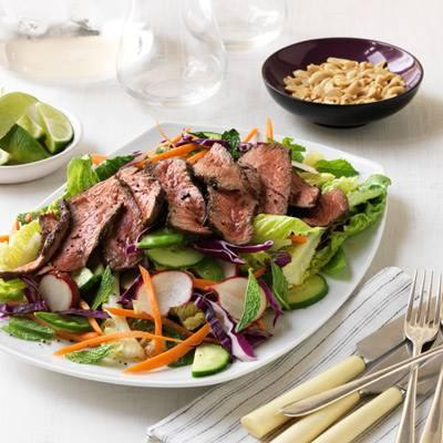 Add This Grilled Asian-style Beef To Turn An Ordinary Salad Into A ...