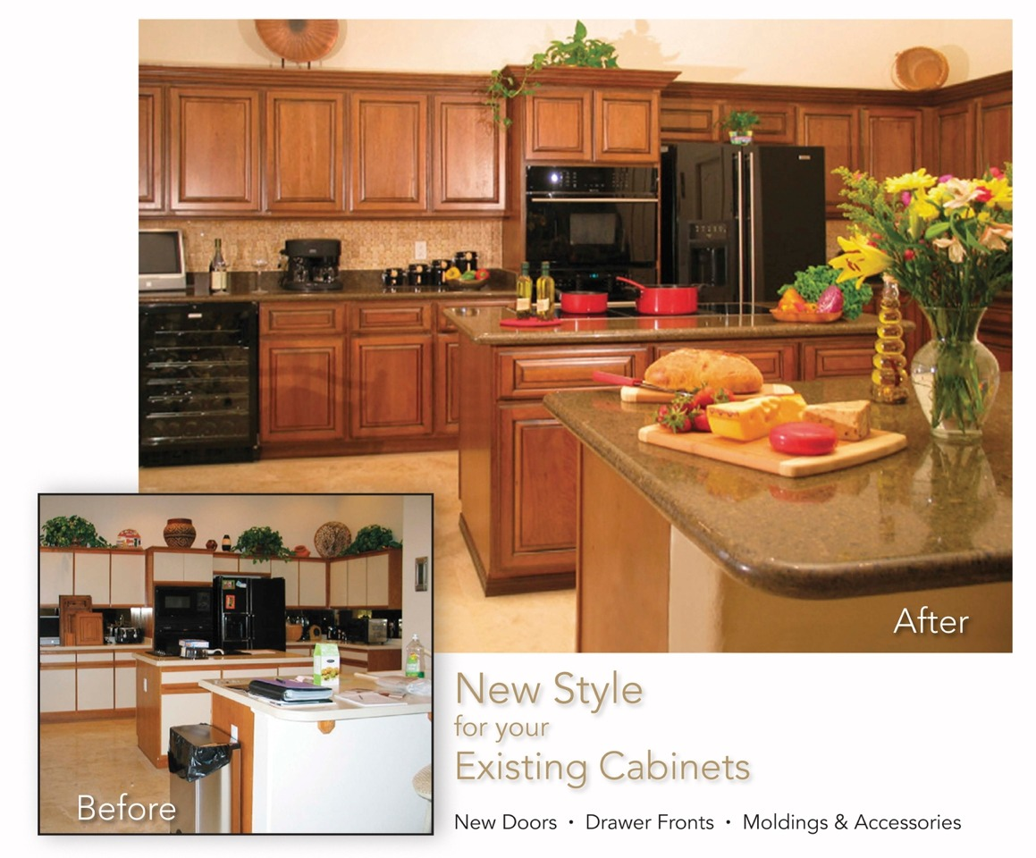 Stain and reface cabinets all yourself trusper for Refacing bathroom cabinets yourself