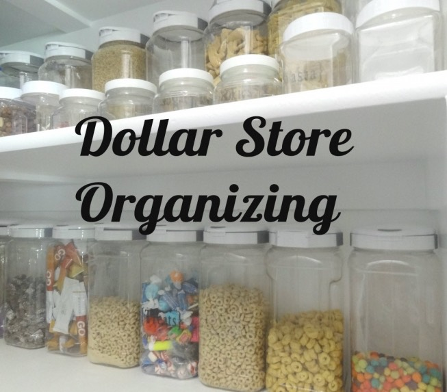 Organizing With Dollar Store Items: Dollar Store Home Organizing Ideas
