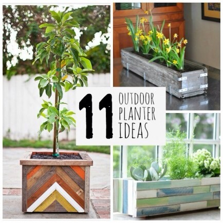 11 pretty outdoor planters for summer trusper - Unusual planters for outdoors ...