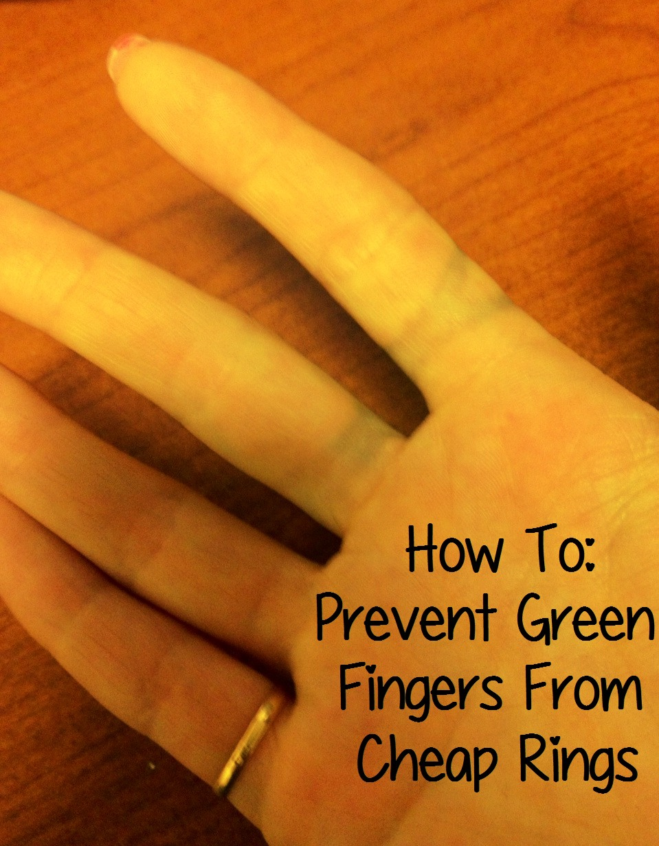 How To Stop Fashion Jewellery Turning Green