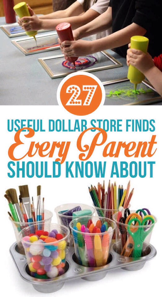 2⃣7⃣ Useful Dollar Store Finds That Every Parent Should Know About! Awesome!