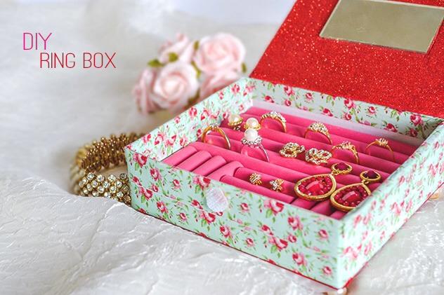 💍💍🌟🌟DIY Ring Box Guest Post 🌟🌟💍💍