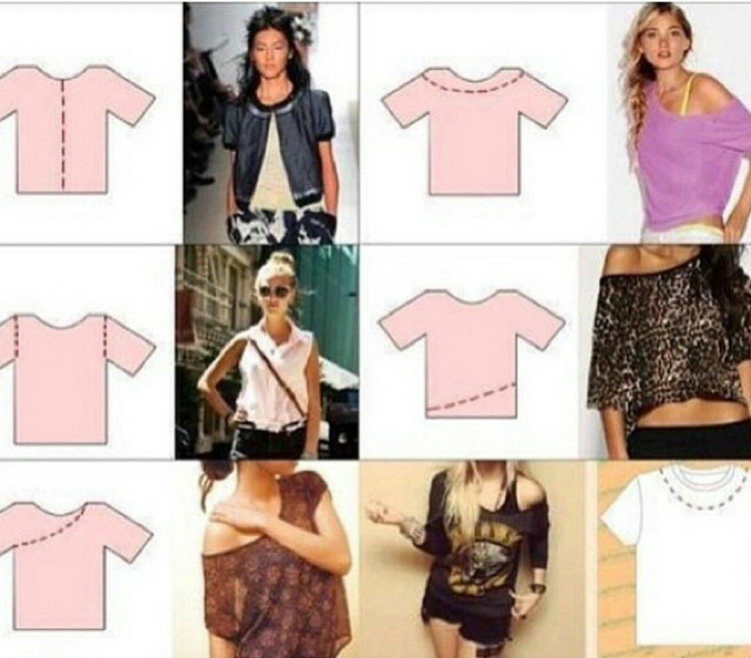 Different ways to cut t shirts trusper for Ways to design t shirts