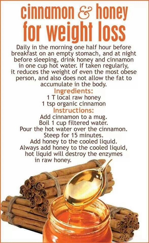 Add Cinnamon And Honey To Hot Water To Boost Your Metabolism!