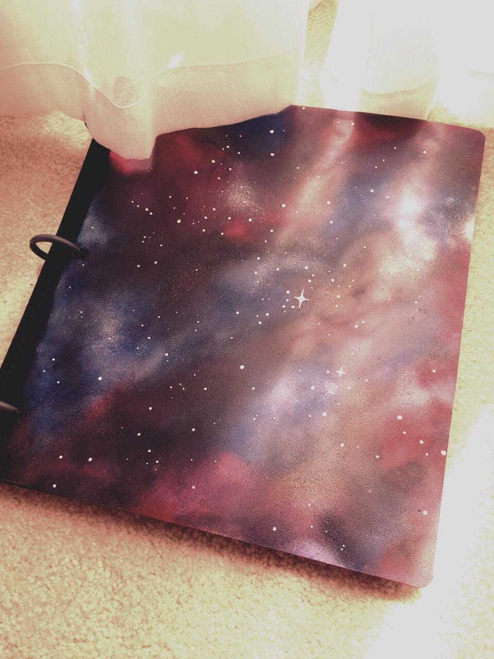 Diy Galaxy Book Cover : Diy galaxy book cover prepare for compliments trusper