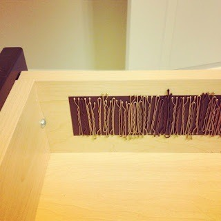 Put A Magnetic Strip Inside Your Vanitys Drawer To Store Bobby Pins