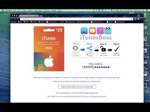 how to get free itunes cards