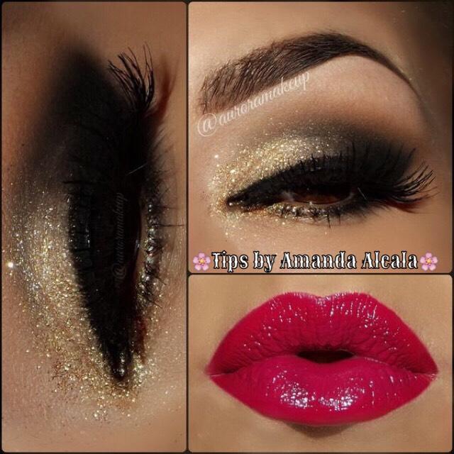 🌸 New Years Eyeshadow Ideas! 🌸 #tipit