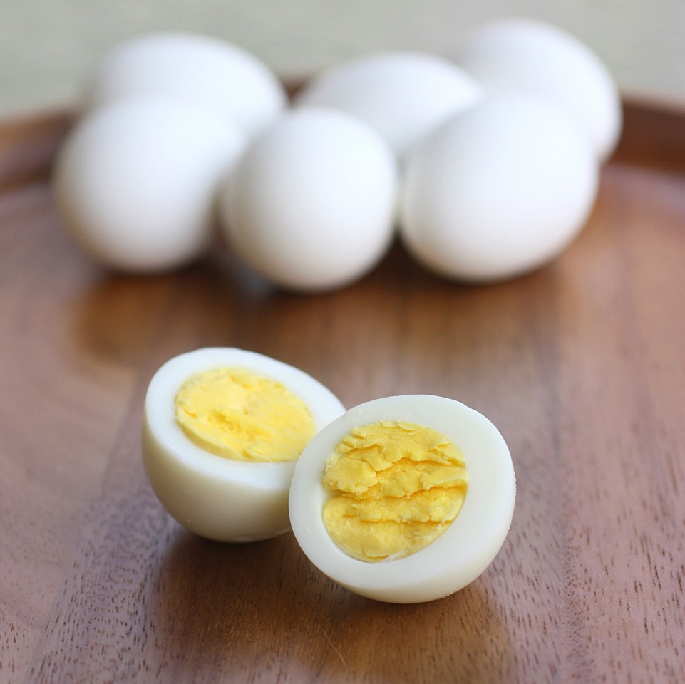 The best way to hard boil your eggs please like