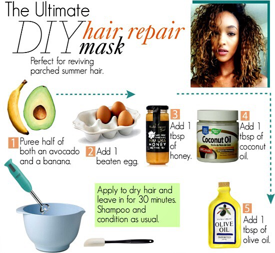 Diy Dry Hair Mask Trusper