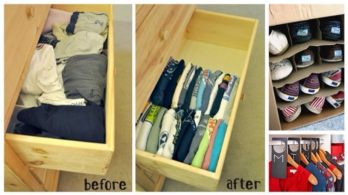 💗1⃣9⃣ Genius Ways To Organize Your Closet And Drawers!💗