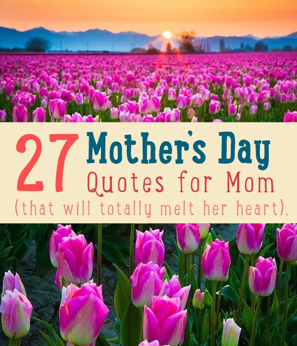 2⃣7⃣ Best Mothers Day Quotes For Homemade Cards. 👪