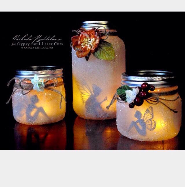 How To Make FAIRIES IN A JAR!!!!!✨✨